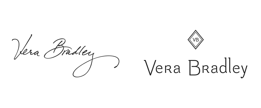 Vera Bradley Logo: before - after