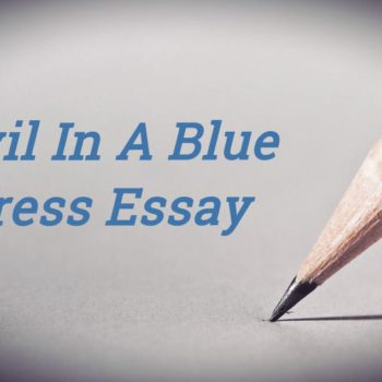 Devil In A Blue Dress Essay